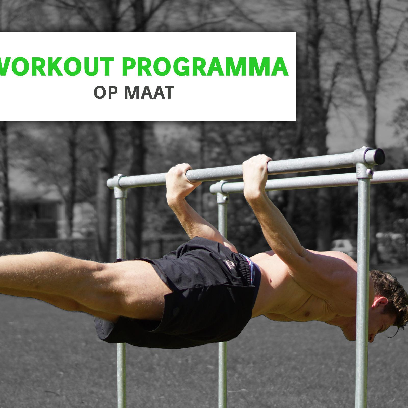Trainingsschema op maat