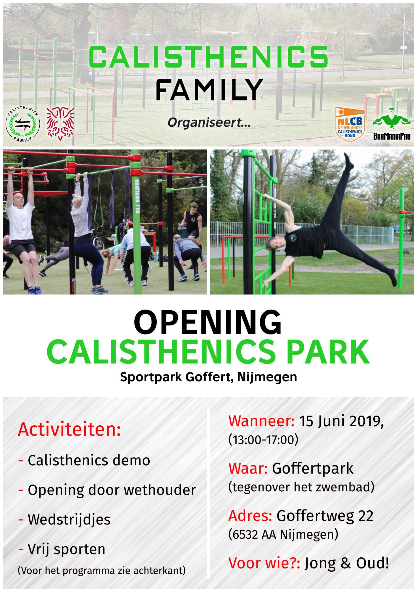 calisthenics park nijmegen