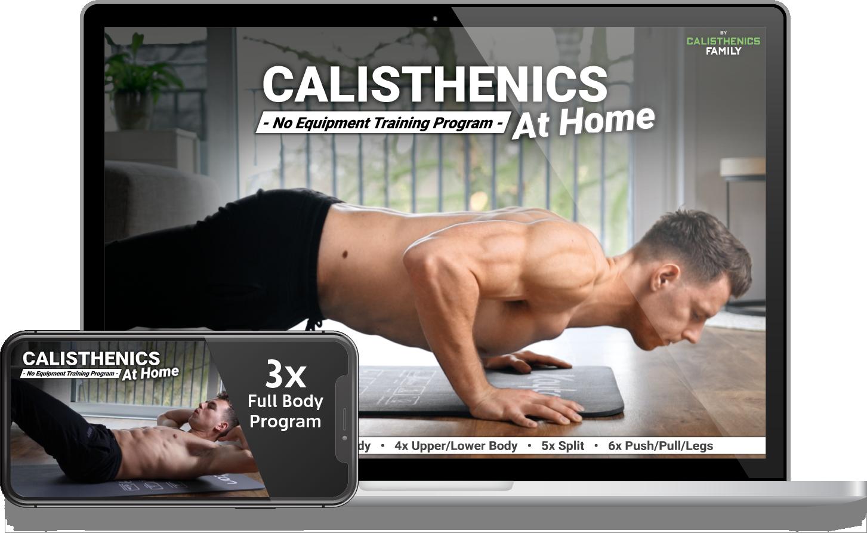Gratis Calisthenics workout voor thuis