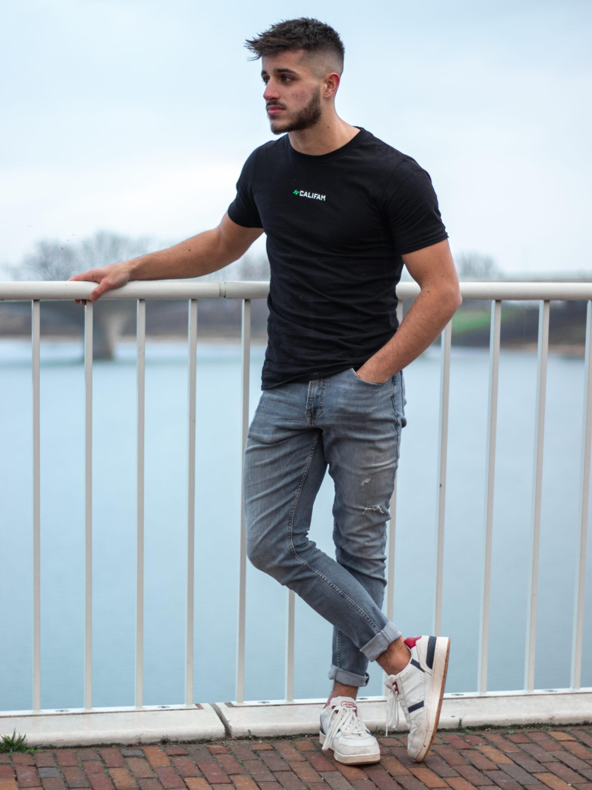 Calisthenics Clothes CaliFam T-shirt Black