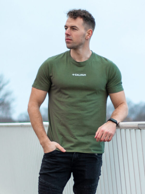 Calisthenics family T-shirt military green