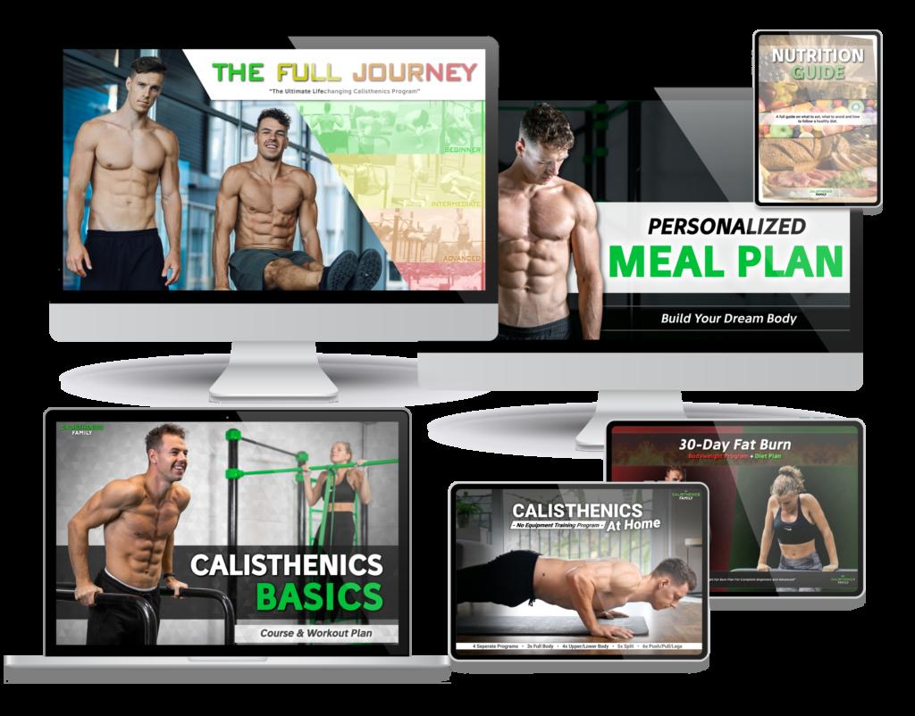 Calisthenics Family Workout Plan