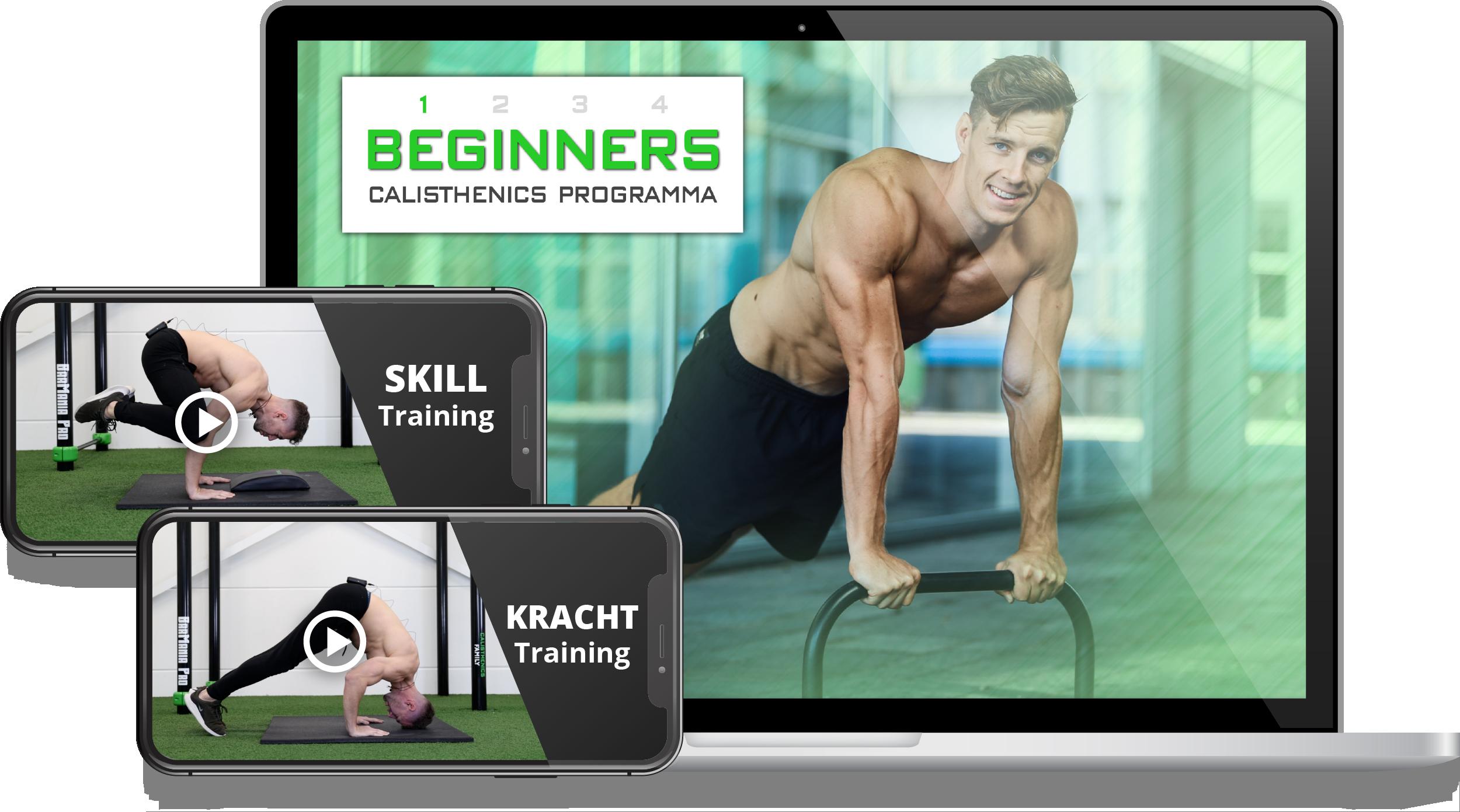 Gratis Calisthenics Beginner Trainingen