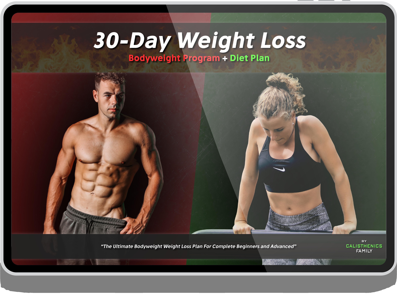 Calisthenics Weight Loss Workout & Diet Plan
