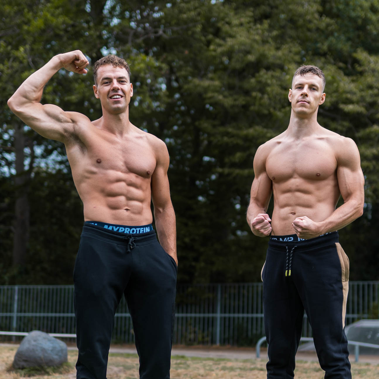calisthenics family get strong and muscular