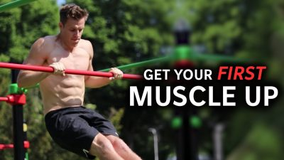how to do a muscle-up calisthenics