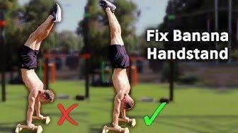 how to fix banana handstand