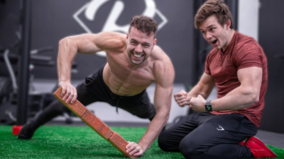 Push up challenges with stan browney