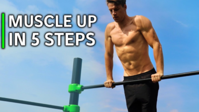 Muscle-up progression exercises