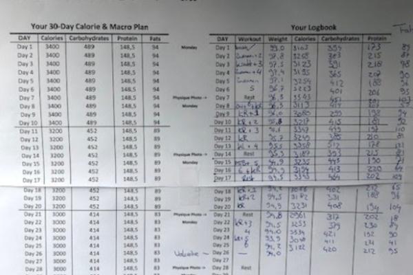 Review Maurice ten Hoope | Calisthenics Weight loss Workout & Diet plan